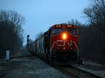 CN 2258 leads 371 off the Holly